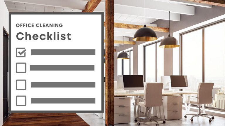 Cleaning Checklist For Your Office