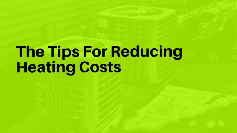 Reducing Heating Costs
